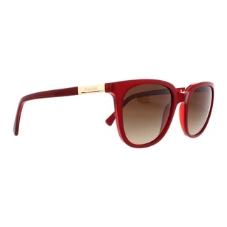 Link to Ralph by Ralph Lauren Women's RA5206 150713 51 Rectangle Plastic Red Brown Sunglasses Similar Items in Women's Sunglasses