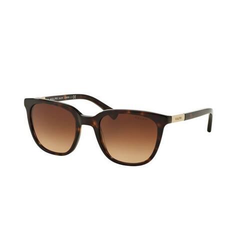 Ralph by Ralph Lauren Women's RA5206 137813 51 Rectangle Plastic Havana Brown Sunglasses
