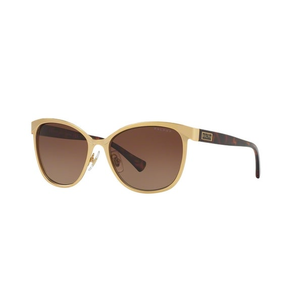 11a2d27926 ... Women s Sunglasses     Fashion Sunglasses. Ralph by Ralph Lauren  Women  x27 s RA4118 3139T5 54 Cateye Metal Plastic Gold