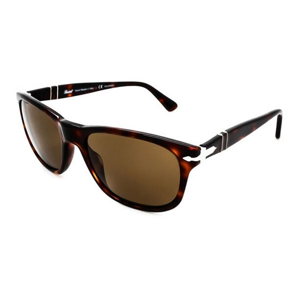 d2d706c8916 Shop Persol Women s PO2989S 24 57 57 Square Plastic Havana Brown Sunglasses  - Free Shipping Today - Overstock.com - 14692994
