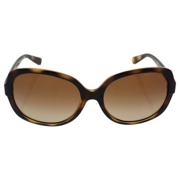 5fa2d6a998 Michael Kors Women  x27 s MK6017 300613 58 Square Plastic Havana Brown  Sunglasses