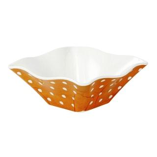 Handmade Melamine Pallini Yellow Polka Dots Cereal/ Dip Bowl (Philippines)