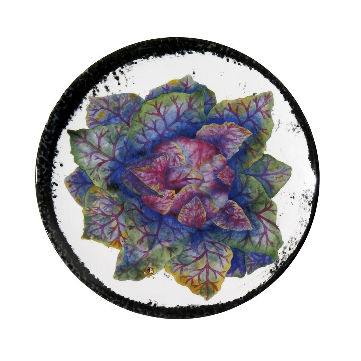 Encore Concepts Handmade Melamine Verdura Cabbage 9-inch ...