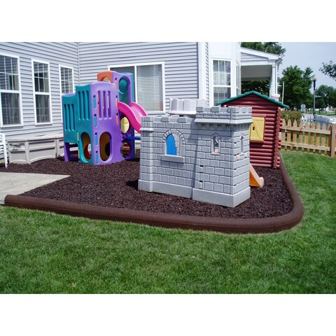 Rubberific Timbers Playground/Landscape Border (Pack of 8)