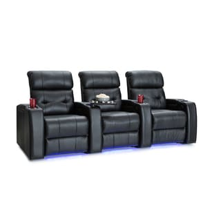 Palliser Mirage Leather Home Theater Seating Power Recliners