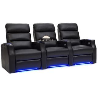 Barcalounger Matrix Leather Home Theater Seating Chairs Power Recliner