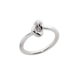 Eternally Haute Love Knot Ring - Silver