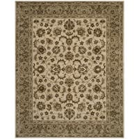 Safavieh Hand-Woven Royalty Ivory / Beige New Zealand Wool Rug (8' x 10')