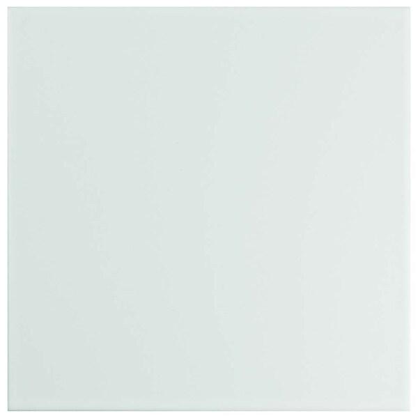 SomerTile 7.75x7.75-inch Triple White Ceramic Wall Tile (25 tiles/11 sqft.). Opens flyout.