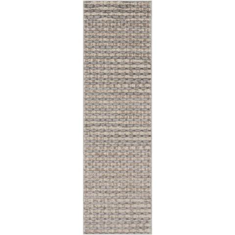 Carson Carrington Korsor Checkered Abstract Area Rug
