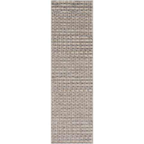 Carson Carrington Korsor Checkered Abstract Area Rug