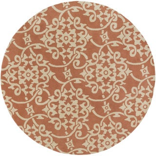 Hand-Tufted Astor Wool Rug-(8' Round)