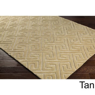 Hand-Tufted Aries Wool Rug-(8' x 10')