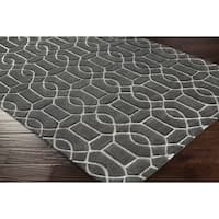 Hand-Tufted Meinir Wool Area Rug