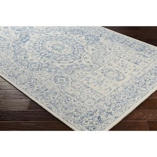 Hand-Hooked Adretien Wool Rug-(8' x 10')