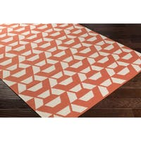 Hand-Woven Meadowmere Wool Area Rug (8' x 10')