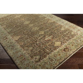Hand-Knotted Eros Wool Rug-(9' x 13')
