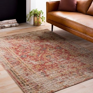 Line Drawn Leaf Ivory Multi Rug 7 10 X 10 0 Free