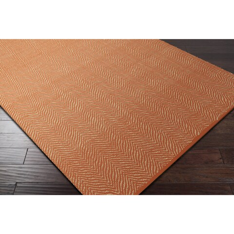 Hand-Woven Kaneen PET Yarn Area Rug - 8' x 10'