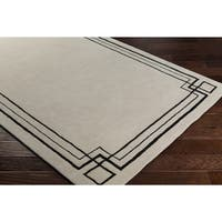 Oliver & James Egas Hand-tufted Wool Ivory Area Rug - 8' x 10'