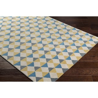 Hand-Tufted Nevodd Wool Rug-(8' x 10')