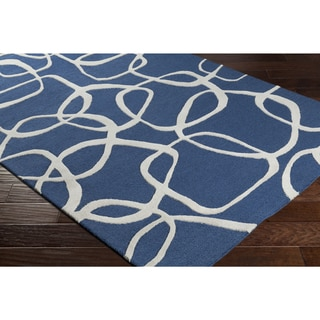Hand-Tufted Pesren Wool Rug-(8' x 10')