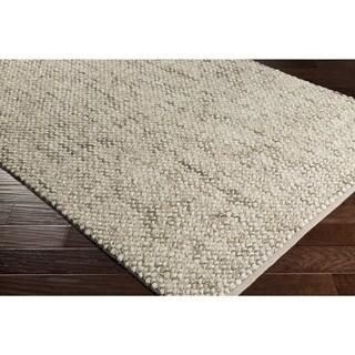 Hand-Woven Juniskor Wool Rug-(8' x 10')