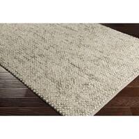 Hand-Woven Juniskor Wool Area Rug - 8' x 10'