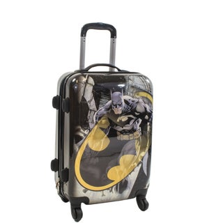 DC Comics Batman 21-inch Hardside Carry On Spinner Upright Suitcase