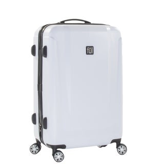 Ful Load Rider 29-inch White Hardside Spinner Upright Suitcase