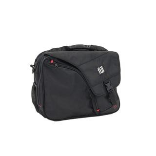 Commotion II Black Messenger Bag for 17-inch Laptops