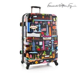 Heys Fernando FVT USA Black Polycarbonate 30-inch Hardside Spinner Upright Suitcase