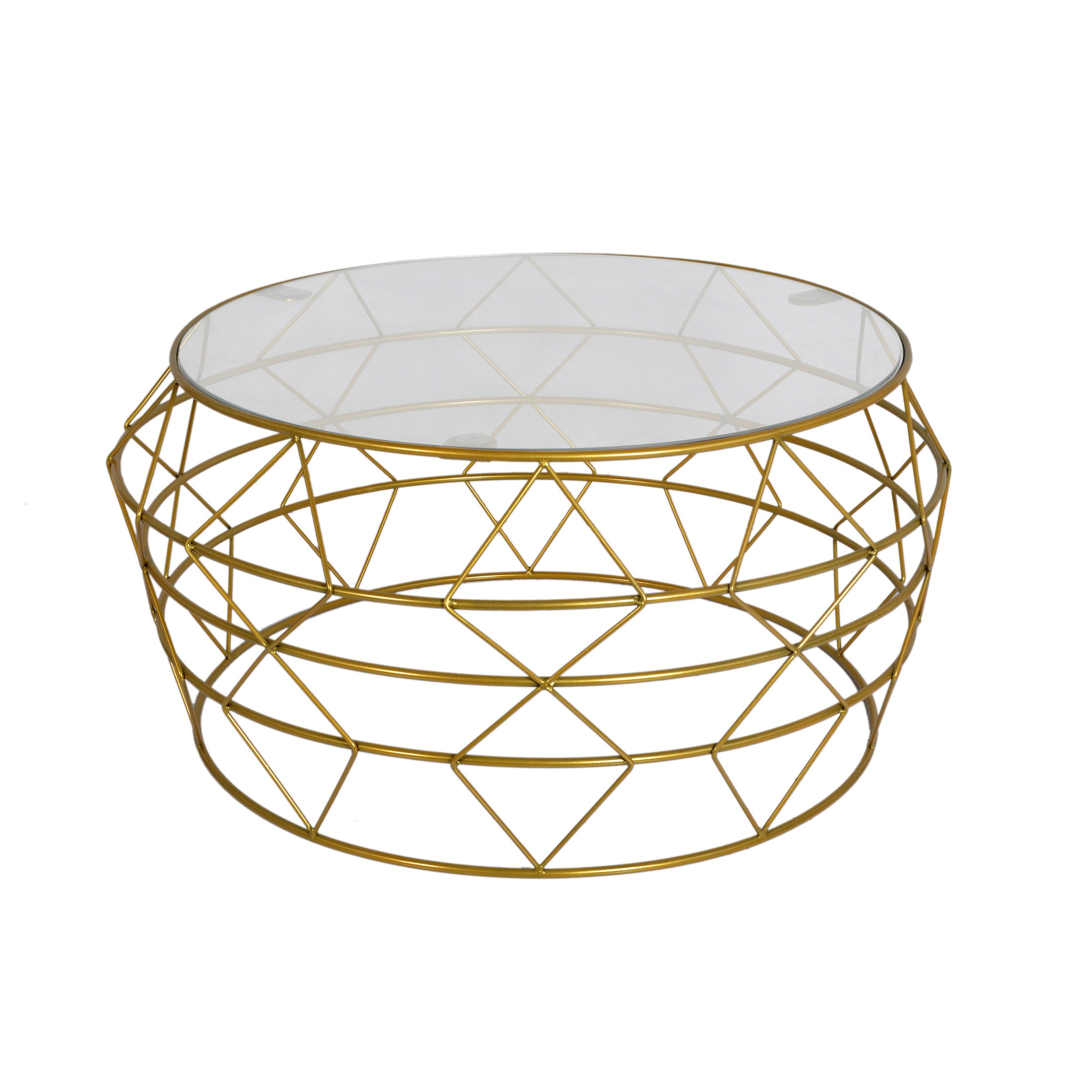 Studio Goldtone Metal Coffee Table (Studio Metal Coffee T...