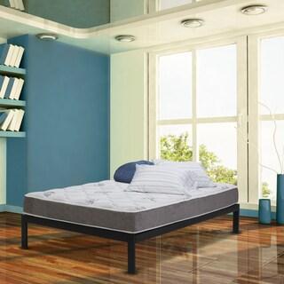 Wolf Natural Comfort Firm Innerspring 9-inch Twin-size Mattress and Platform Set