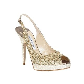 Jimmy Choo Nova Glitter Slingback Pumps (More options available)