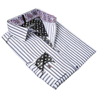 Lennon and McCartney Men's 'I'm Happy Just To Dance' Cotton Shirt|https://ak1.ostkcdn.com/images/products/14693721/P21226057.jpg?impolicy=medium