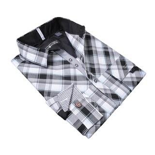 Lennon and McCartney Men's Black Cotton 'Hard Day's Night' Shirt