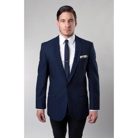 Tazio Men's Blue Prom Blazer