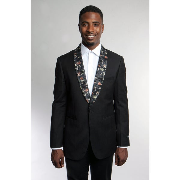 Tazio Mens Black Blazer