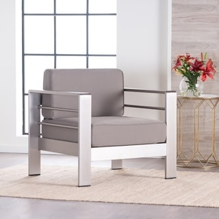Salome Modern Fabric Club Chair by Christopher Knight Home