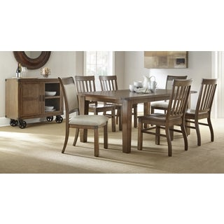 Helena Dining Set with Upholstered Chairs by Greyson Living
