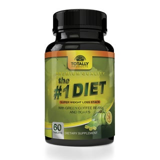 The #1 Diet Complex with Garcinia Cambogia, Green Coffee Bean and BCAAs Super Weight Loss (60 Caplets)