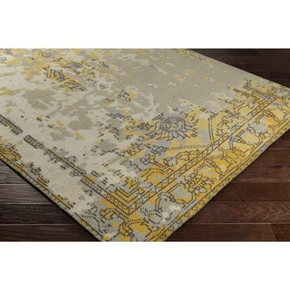 Hand-Knotted Tajo Wool Area Rug