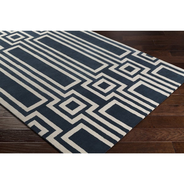 Carson Carrington Nyksund Hand-Tufted New Zealand Wool Area Rug