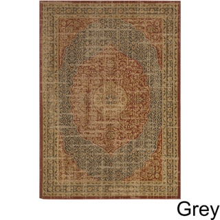 The Curated Nomad Bemis Woven Area Rug (52 x 76 - Charcoal)
