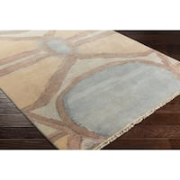 Hand-Knotted Pascal Wool Area Rug - 6' x 9'