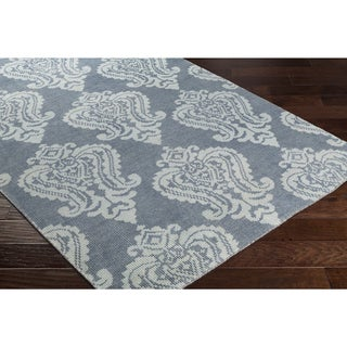 Hand-Knotted Ardumual Wool Area Rug