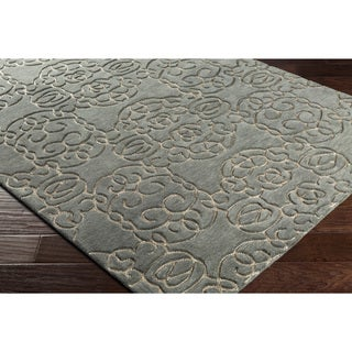 "Hand-Tufted Hestra Wool Rug (5' x 7'6"")"