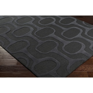 "Hand-Tufted Zonra Wool Rug (5' x 7'6"")"