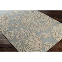 Hand-Tufted Rosek Wool Area Rug - 5' x 8'